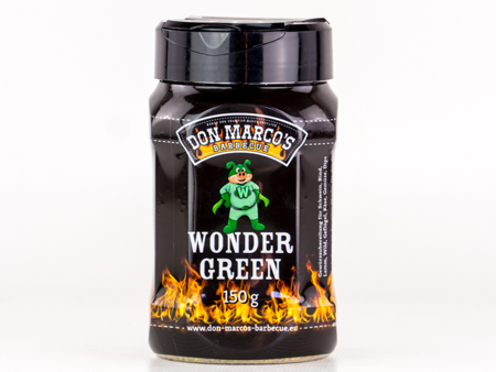 DON MARCO's 'WonderGreen' BBQ RUB, 150 gr