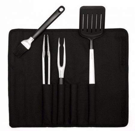 Grilling tools with case, 4 pcs. COBB